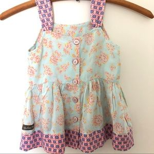 Matilda Jane button-back sleeveless Shirt Tank